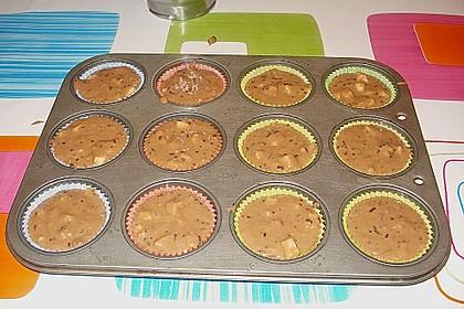 Apfel - Nougat - Muffins 15