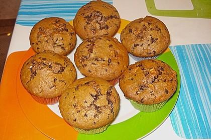 Apfel - Nougat - Muffins 3