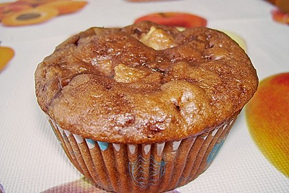 Apfel - Nougat - Muffins 9