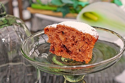 Apfel - Nougat - Muffins