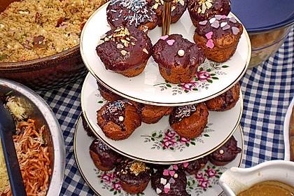 Apfel - Nougat - Muffins 4