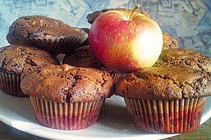 Apfel - Nougat - Muffins 7