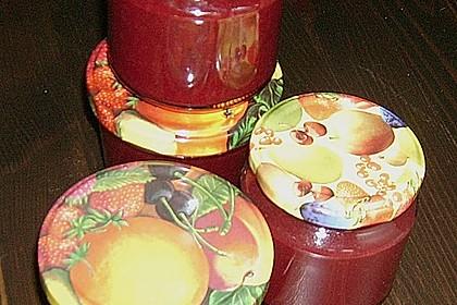 Weihnachtliche Glüh - Kirsch - Marmelade 21