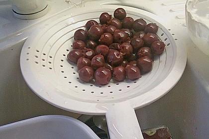 Weihnachtliche Glüh - Kirsch - Marmelade 25