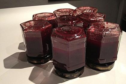 Weihnachtliche Glüh - Kirsch - Marmelade 22