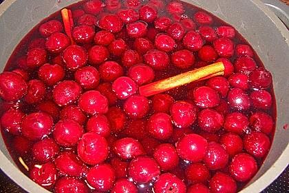 Weihnachtliche Glüh - Kirsch - Marmelade 13