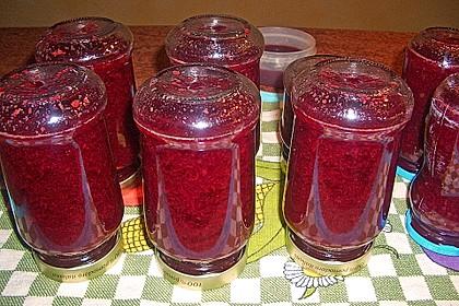 Weihnachtliche Glüh - Kirsch - Marmelade 18
