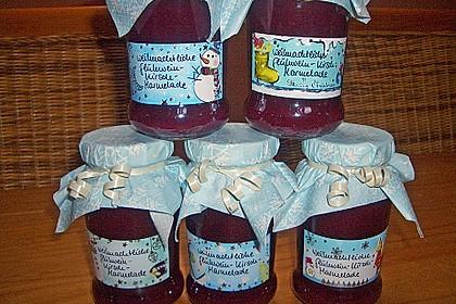 Weihnachtliche Glüh - Kirsch - Marmelade 10