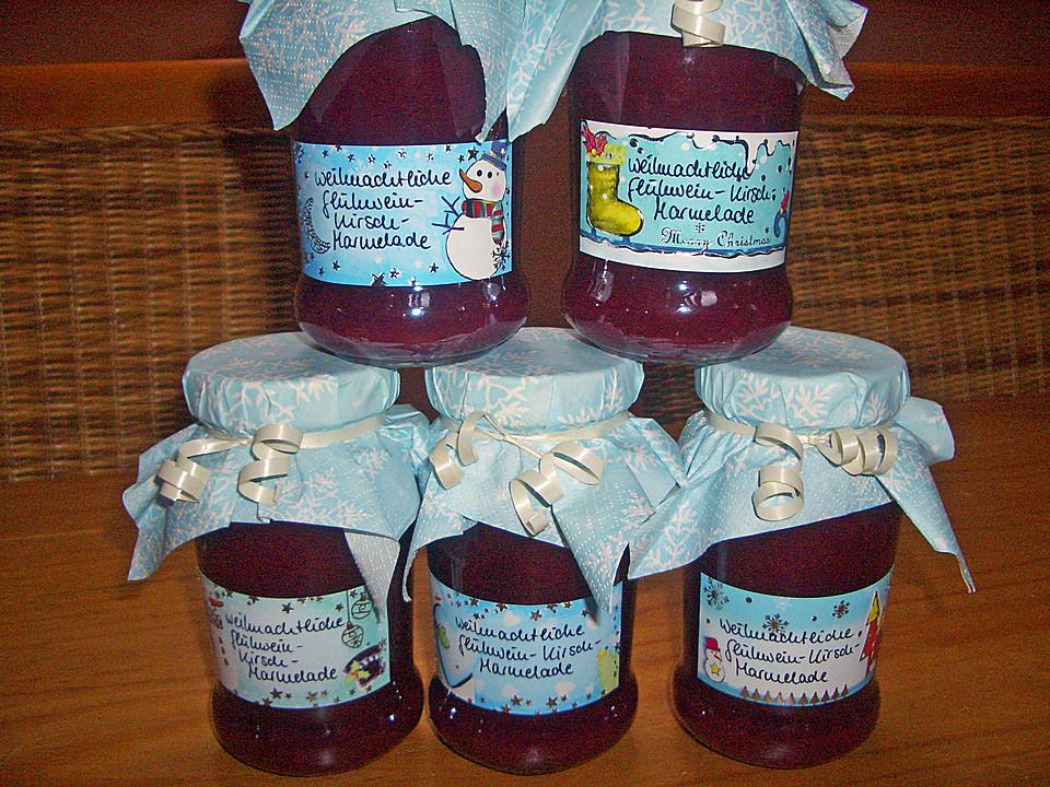 weihnachtliche gl h kirsch marmelade rezept mit bild. Black Bedroom Furniture Sets. Home Design Ideas