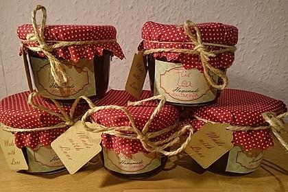 Weihnachtliche Glüh - Kirsch - Marmelade 6
