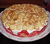 Erdbeerstreuselkuchen (Bild)