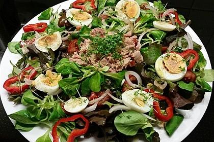Schneller Salat mit Thunfisch 1