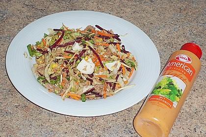 Schneller Salat mit Thunfisch 3