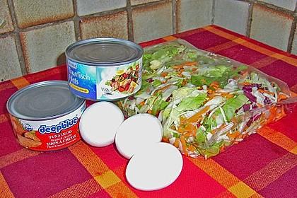 Schneller Salat mit Thunfisch 8