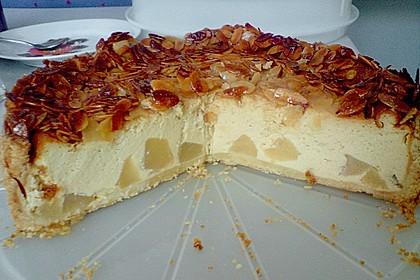 Birnen - Karamell - Käsekuchen 62