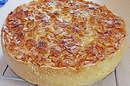 Birnen - Karamell - Käsekuchen 2