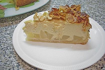Birnen - Karamell - Käsekuchen 12