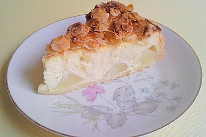 Birnen - Karamell - Käsekuchen 26