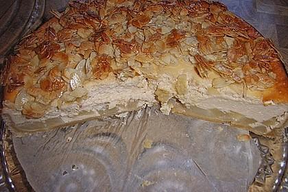 Birnen - Karamell - Käsekuchen 60