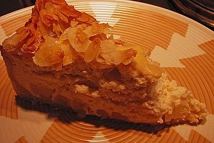 Birnen - Karamell - Käsekuchen 75