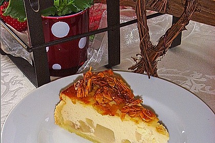 Birnen - Karamell - Käsekuchen 10