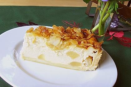 Birnen - Karamell - Käsekuchen 17