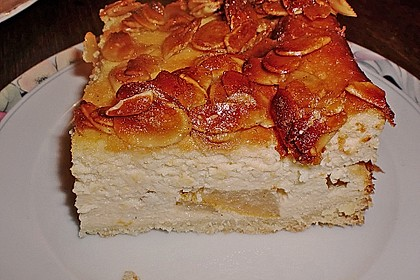 Birnen - Karamell - Käsekuchen 11