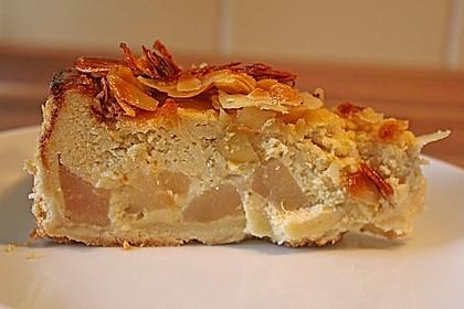 Birnen - Karamell - Käsekuchen 30