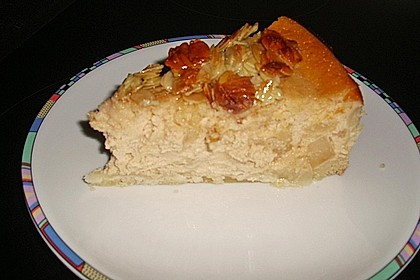 Birnen - Karamell - Käsekuchen 90
