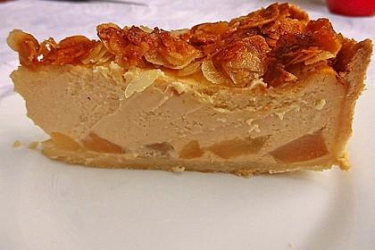 Birnen - Karamell - Käsekuchen 13