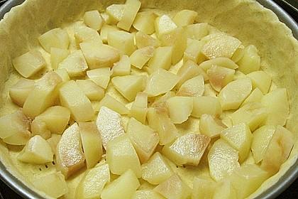 Birnen - Karamell - Käsekuchen 80