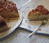 Birnen - Karamell - Käsekuchen