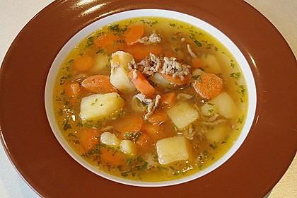 Hackfleisch - Kartoffel - Möhren - Eintopf 5