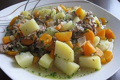 Hackfleisch - Kartoffel - Möhren - Eintopf 24