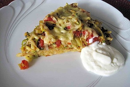 Tomaten - Lauch - Quiche 1