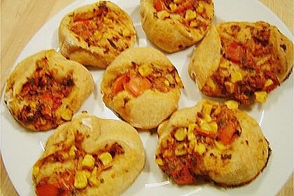 Chrissis Thunfisch - Pizzaschnecken 1