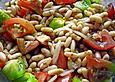 Bohnen - Tomaten - Salat