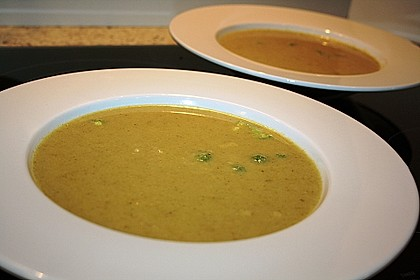 Brokkoli - Creme - Suppe