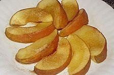 Bratapfel in der Mikrowelle