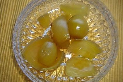 Rosinenkinds eingelegte Safran - Zwiebeln 4