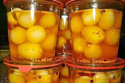 Rosinenkinds eingelegte Safran - Zwiebeln 1