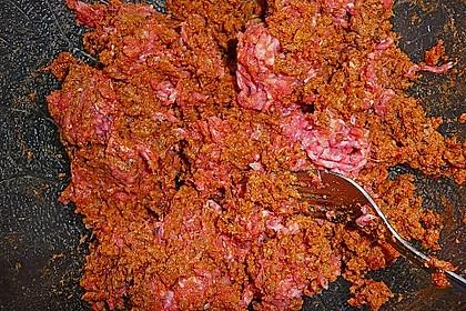 Gefüllte Blätterteigtaschen mit Hackfleisch 7