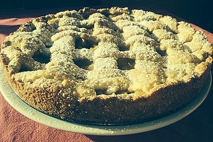 Gedeckter Apfelkuchen vom Blech nach Tante Inge 2