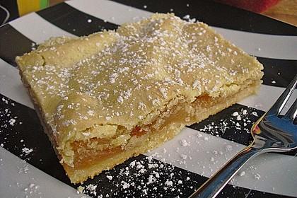 Gedeckter Apfelkuchen vom Blech nach Tante Inge