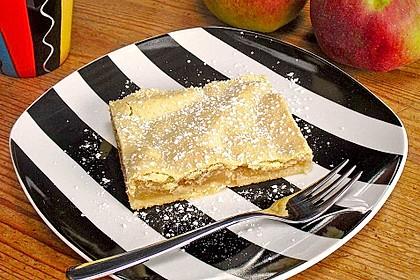 Gedeckter Apfelkuchen vom Blech nach Tante Inge 1