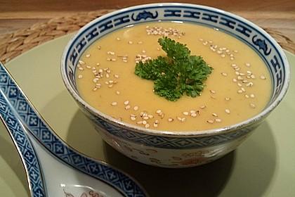 Scharfe Kartoffel - Kokos - Chili Suppe
