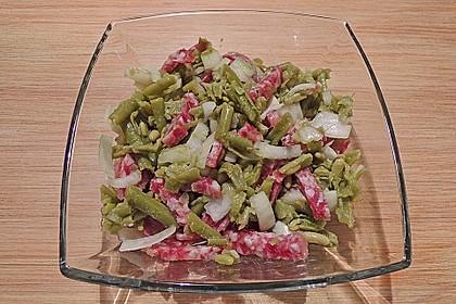 Bohnen - Salami - Salat