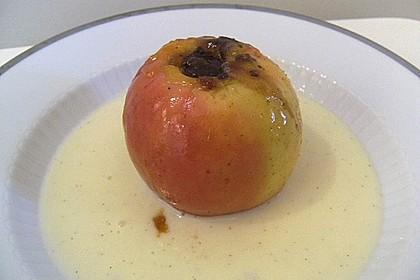 Bratapfel in der Mikrowelle 8
