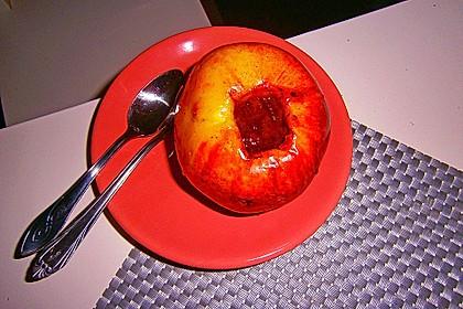 Bratapfel in der Mikrowelle 3
