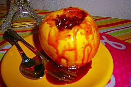 Bratapfel in der Mikrowelle 9